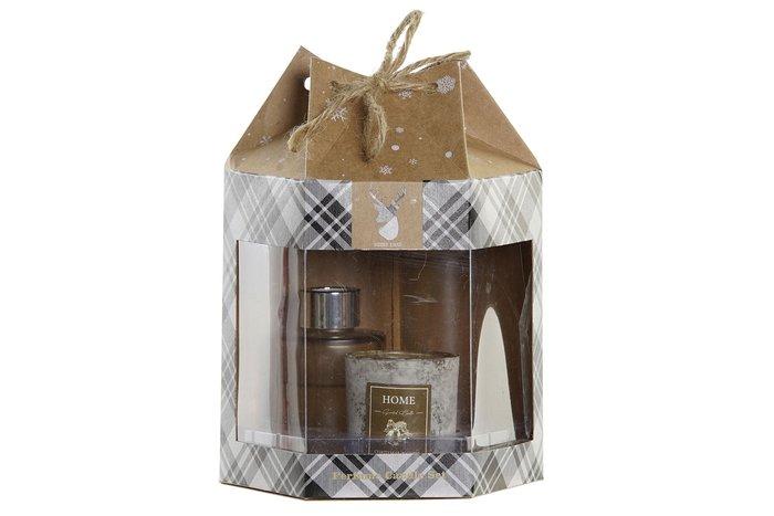 Set regalo aroma mikado + ambientador + vela