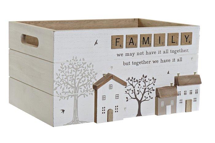 Caja mdf 30x21x16 blanco