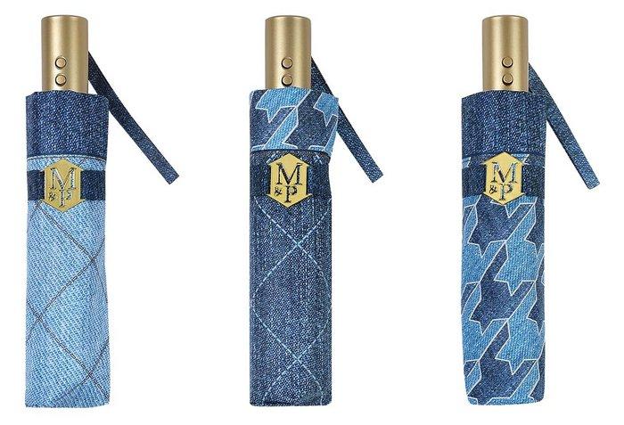 Paraguas m&p jean mini 3 secciones automatico abrir y cerrar