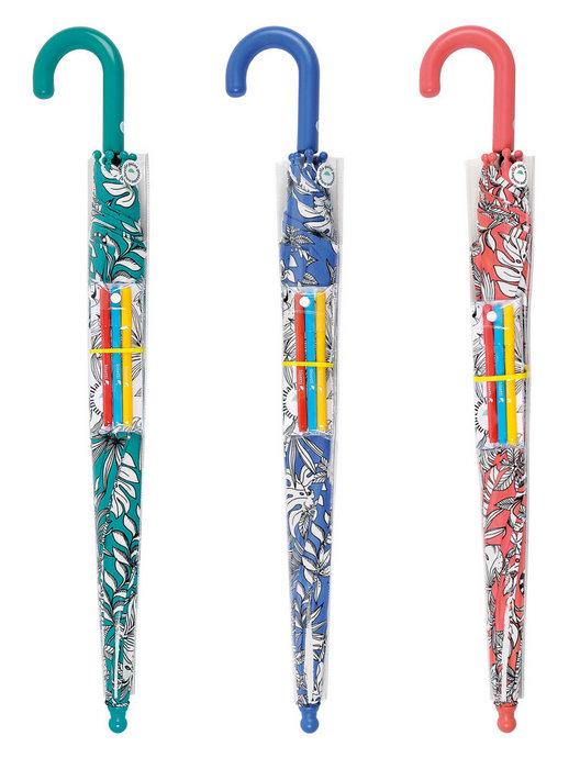 Paraguas bisetti paint infantil juvenil automatico 36188
