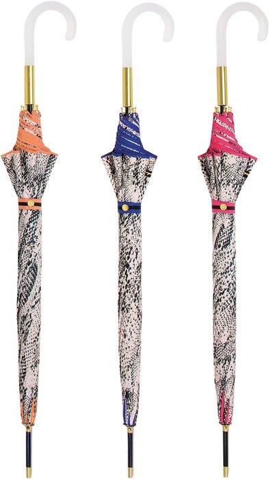 Paraguas largo sra animal print con borde de color 3 mod sur