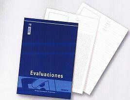 Bloc evaluacion folio 40h horizontal