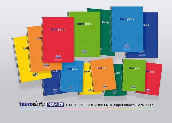 Bloc pp folio 80h 90gr pauta 2.5 color verde claro