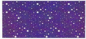 Fondo de belen cielo estrellas 100x200