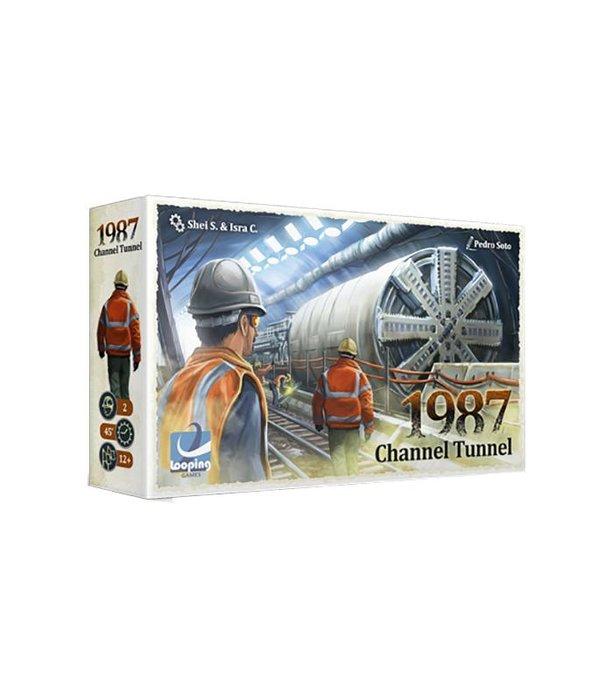 Juego de mesa 1987 channel tunnel