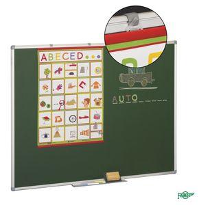 Pizarra verde 122x300 marco aluminio 11v-7
