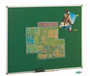 Pizarra verde 122x150 marco aluminio 1012-4