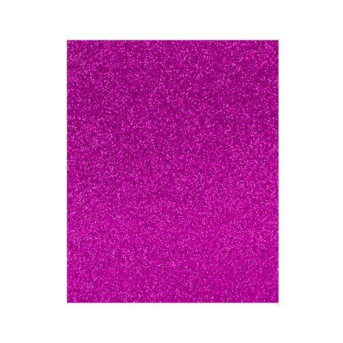 Lamina goma eva 20x30 fucsia efecto purpurina