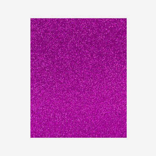 Lamina goma eva 20x30 rosa efecto purpurina