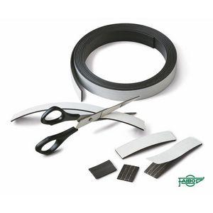 Bandas magneticas adhesivas faibo 3m 20x1.5mm