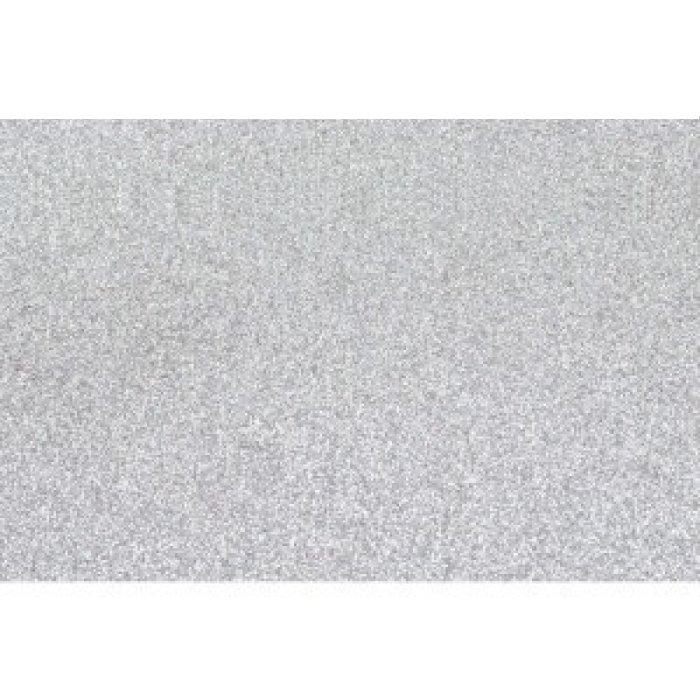 Lamina goma eva 40x60 blanco efecto purpurina