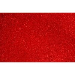 Lamina goma eva 40x60 rojo efecto purpurina