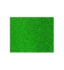 Lamina goma eva 40x60 verde efecto purpurina
