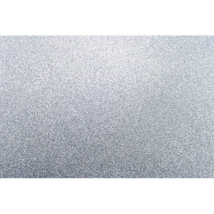 Lamina goma eva 40x60 plata efecto purpurina