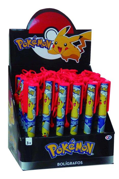Boligrafo con cuerda pokemon