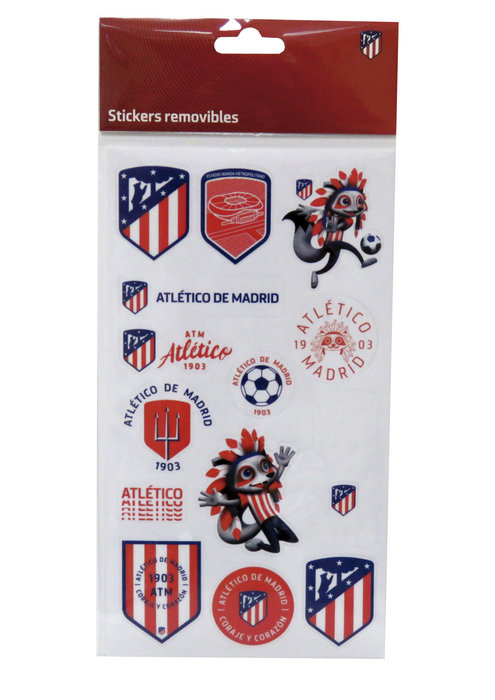 Stickers removibles atletico madrid