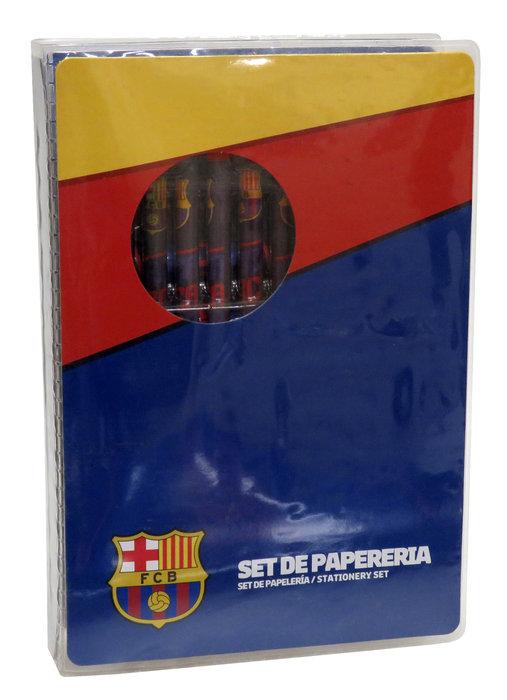 Maletin de dibujo 25 piezas fc barcelona