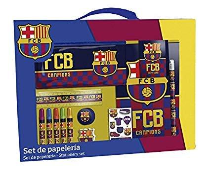 Set de papeleria fc barcelona