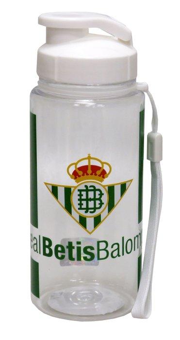 Botella translucida 550 ml betis