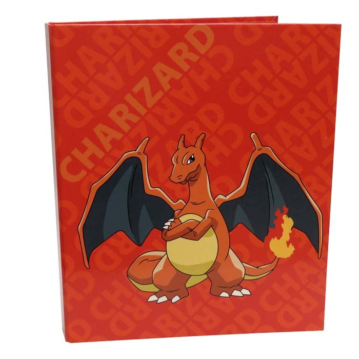 Carpeta 4 anillas pokemon - charizard