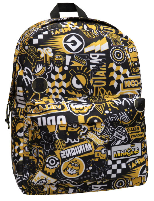 Mochila juvenil adaptable a trolley minions