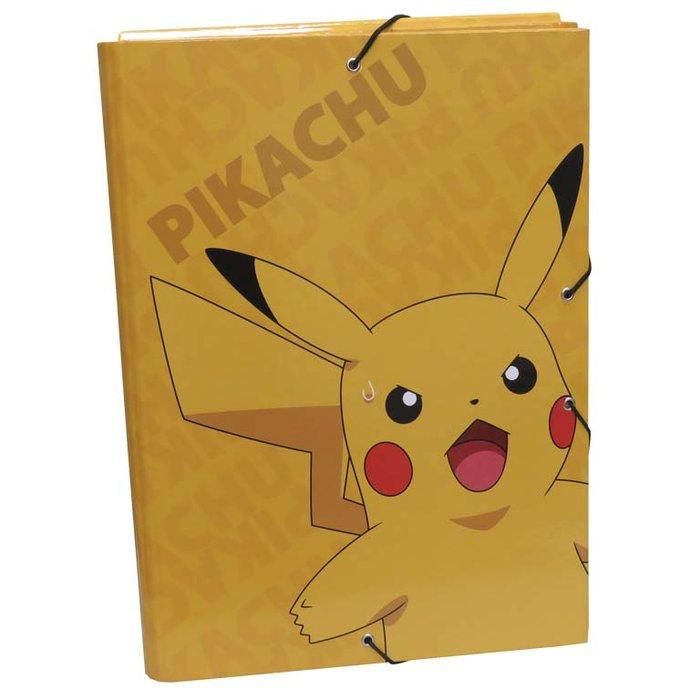 Carpeta solapas pokemon - pikachu