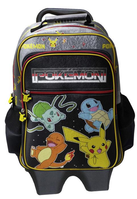 Mochila con trolley extraible pokemon