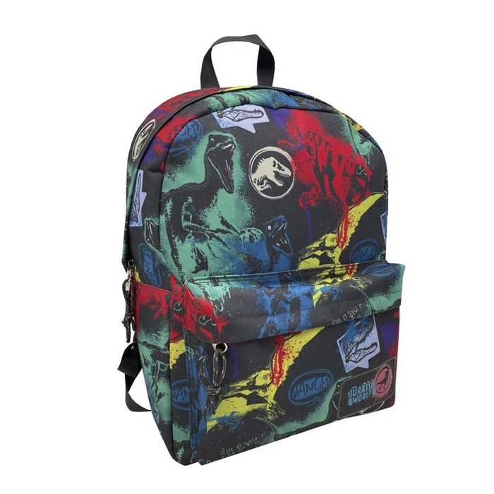 Mochila juvenil adaptable a trolley jurassic world