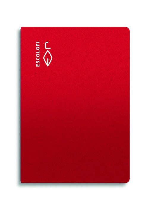 Libreta folio 50 hojas 70gr horizontal margen rojo