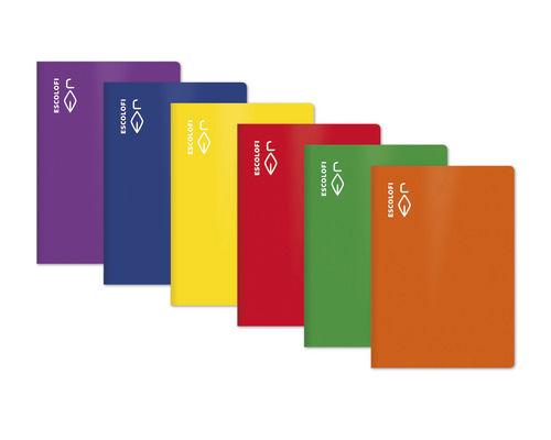 Libreta folio 50h 70gr pauta montessori 5mm amarillo