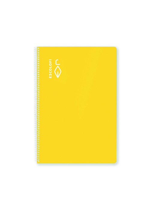 Bloc cuarto 100h 70gr pauta 3,5 margen amarillo