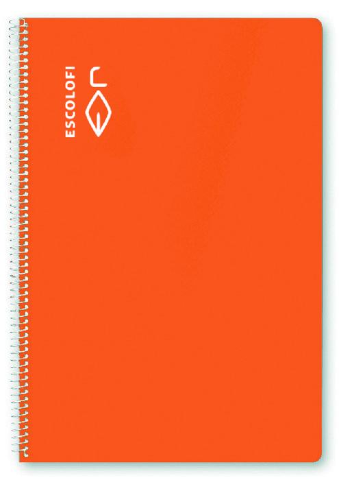 Bloc a4 80h 70g milimetrado naranja