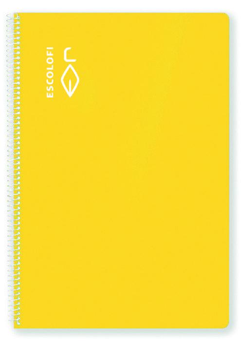 Bloc a4 80h 70g milimetrado amarillo