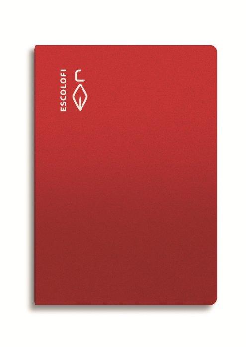 Libreta a4 50h 70gr pauta 3mm rojo