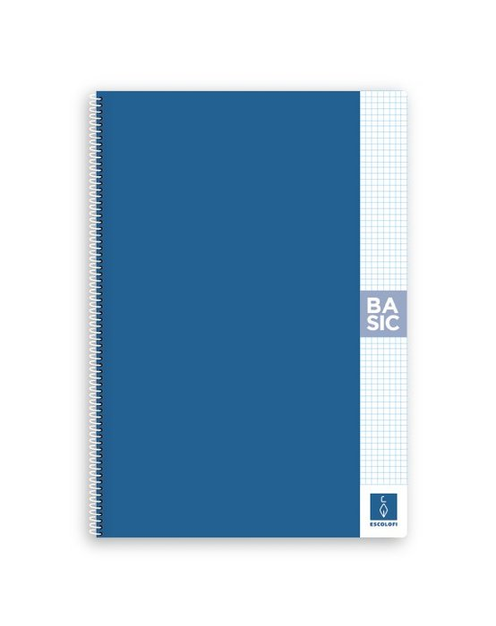 Bloc a4 80 hojas 80 gr 4x4 con margen azul