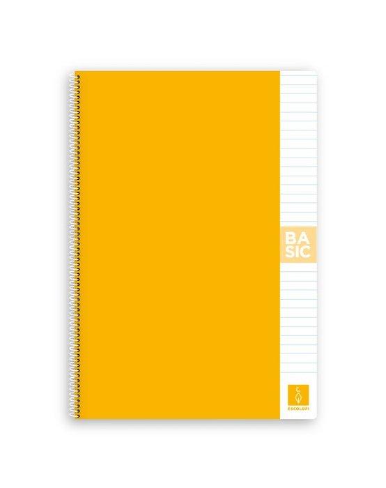 Bloc a4 80 hojas 80 gr horizontal amarillo