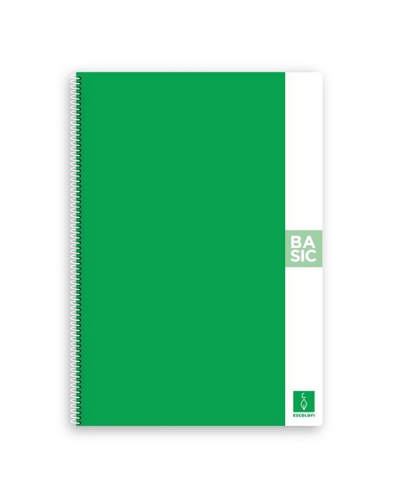 Bloc a4 80 hojas 80gr liso verde