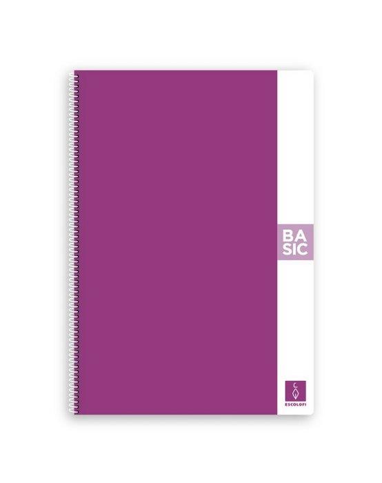 Bloc a4 80 hojas 80 gr liso violeta