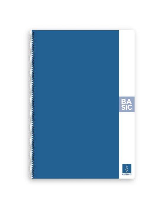 Bloc a4 80 hojas 80gr liso azul