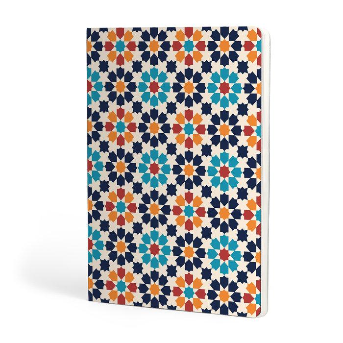 Libreta a5 escolofi mosaic 40h 90g dots gothic