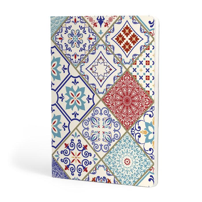Libreta a5 escolofi mosaic 40h 90g dots greek