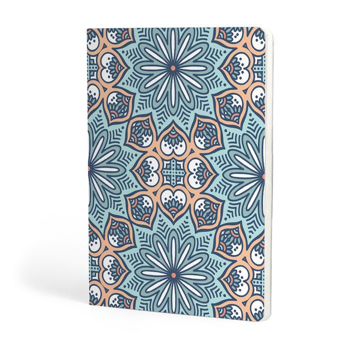 Libreta a5 escolofi mosaic 40h 90g dots santa clara
