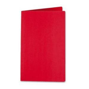 Subcarpeta a4 180gr rojo pastel