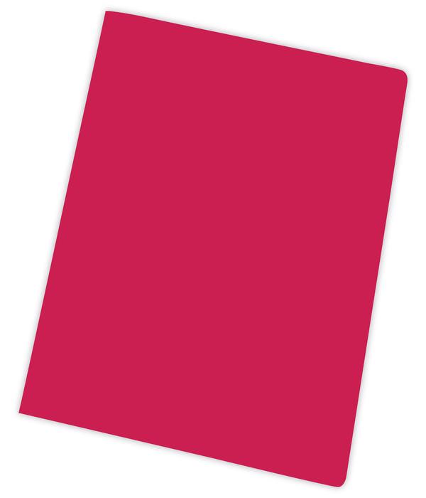 Subcarpeta a4 185gr rojo