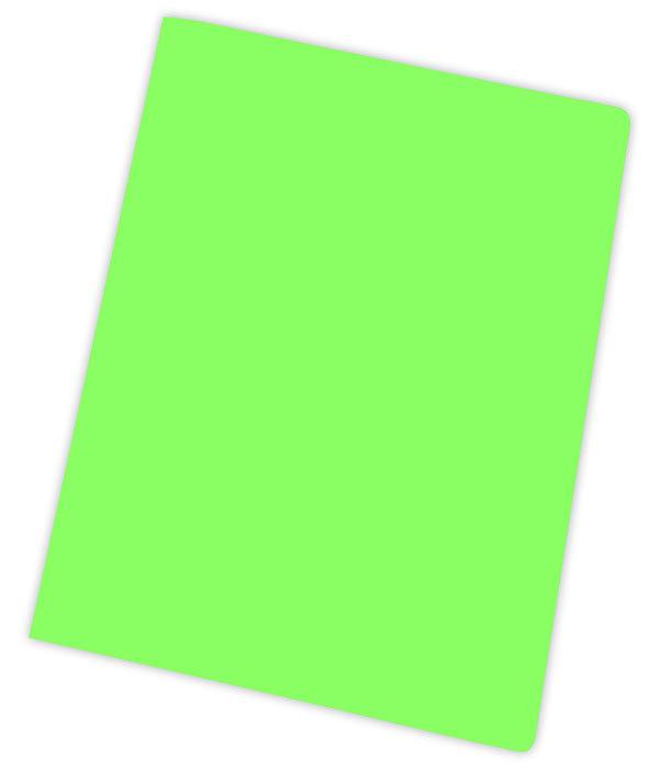 Subcarpeta a4 185gr verde semi intenso