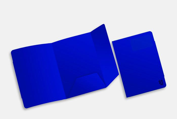 Subcarpeta a4 premier azul