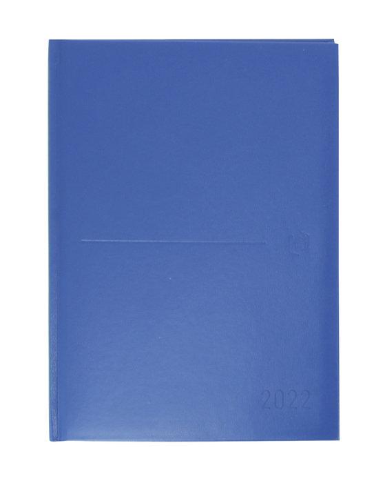 Agenda anual 2022 oxford classic dia pagina azul