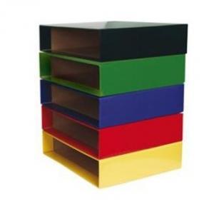 Caja archivador fº elba rado top ancho negro