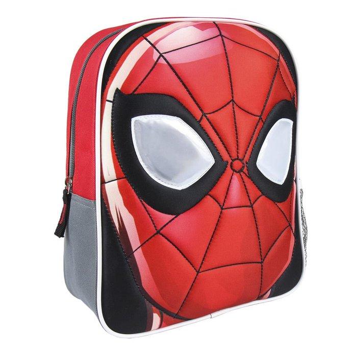 Mochila infantil personaje spiderman efecto brillo