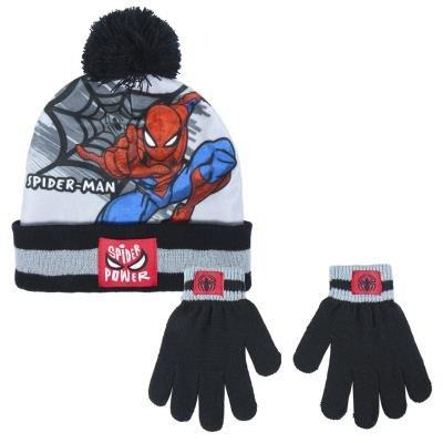 Conjunto 2 piezas gorro + guantes spiderman